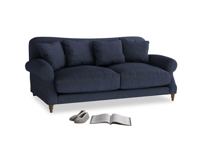 Medium Crumpet Sofa in Seriously Blue Clever Softie