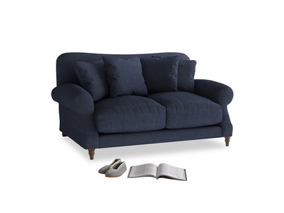 Small Crumpet Sofa in Seriously Blue Clever Softie