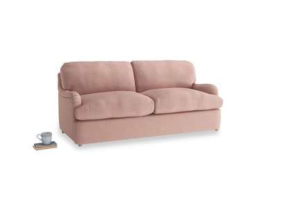 Medium Jonesy Sofa Bed in Tuscan Pink Clever Softie