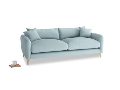 Medium Squishmeister Sofa in Powder Blue Clever Softie