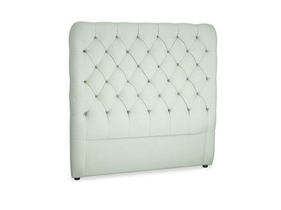 Double Tall Billow Headboard in Soft Green Clever Softie