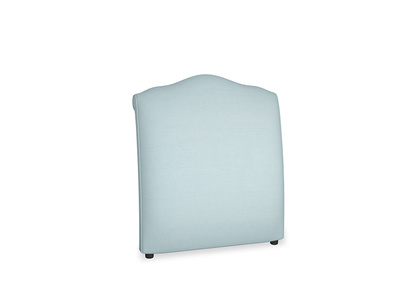 Single Frenchie Headboard in Powder Blue Clever Softie