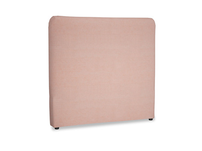 Double Ruffle Headboard in Tuscan Pink Clever Softie