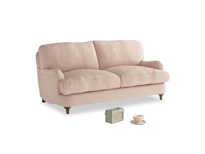 Small Jonesy Sofa in Pink clay Clever Softie