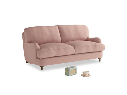 Small Jonesy Sofa in Tuscan Pink Clever Softie