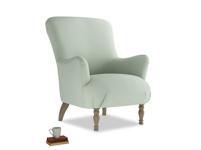Gramps Armchair in Soft Green Clever Softie