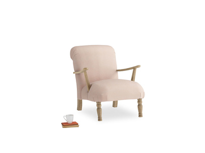Brew Armchair in Pink clay Clever Softie