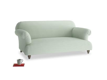 Medium Soufflé Sofa in Soft Green Clever Softie