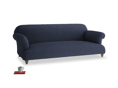 Large Soufflé Sofa in Seriously Blue Clever Softie