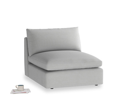 Cuddlemuffin Single Seat in Pewter Clever Softie
