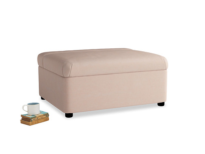 Single Bed in a Bun in Pink clay Clever Softie