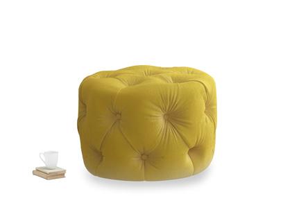 Gumdrop in Bumblebee clever velvet
