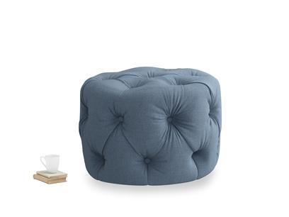 Gumdrop in Nordic blue brushed cotton