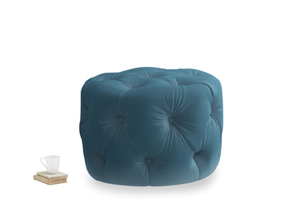 Gumdrop in Old blue Clever Deep Velvet