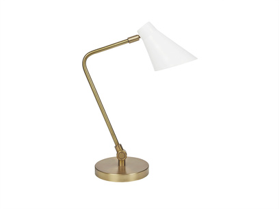 Downtime brass table lamp