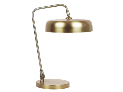 Biblio table lamp in Brass