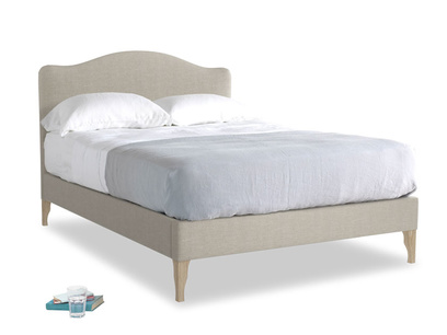Upholstered french style luxury beautiful Luna bed