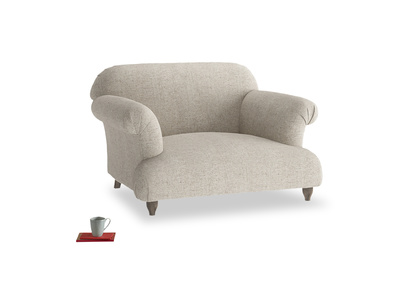 Squidgy Soufflé contemporary love seat and snuggler