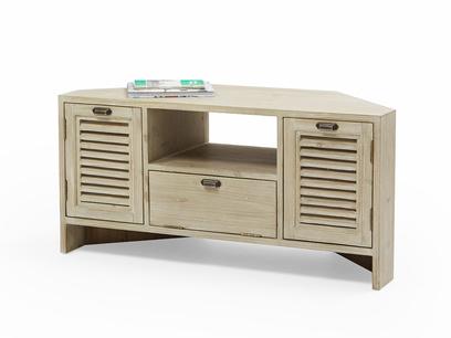 Corner Boy wooden TV stand