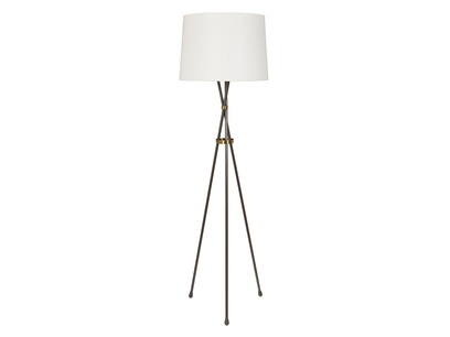 Hat Trick industrial style tripod floor lamp