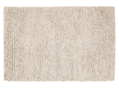 Handmade knitted Shaggy floor rug