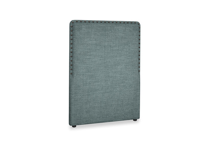 Single Smith Headboard in Anchor Grey Clever Laundered Linen