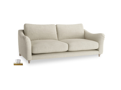 Large Bumpster Sofa in Shell Clever Laundered Linen