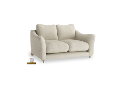 Small Bumpster Sofa in Shell Clever Laundered Linen