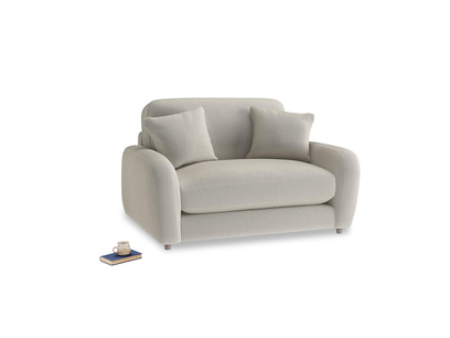 Easy Squeeze Love Seat in Smoky Grey clever velvet