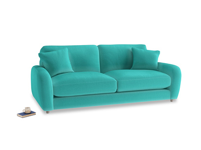 Medium Easy Squeeze Sofa in Fiji Clever Velvet