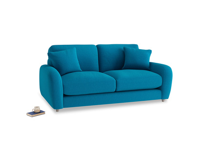 Small Easy Squeeze Sofa in Bermuda Brushed Cotton
