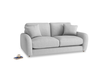Small Easy Squeeze Sofa in Cobble house fabric