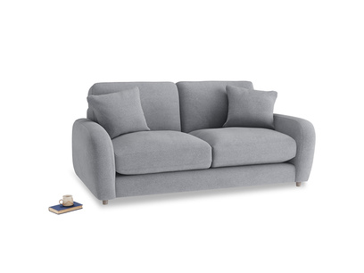 Small Easy Squeeze Sofa in Dove grey wool