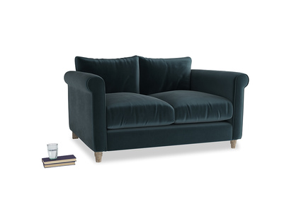 Small Weekender Sofa in Bluey Grey Clever Deep Velvet