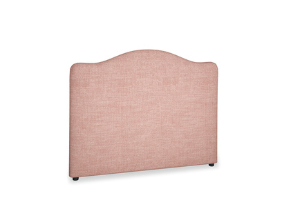 Double Luna Headboard in Blossom Clever Laundered Linen