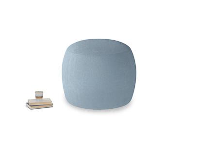 Little Cheese in Chalky blue vintage velvet