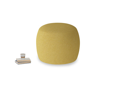 Little Cheese in Easy Yellow Clever Woolly Fabric