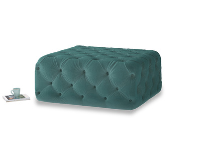 Oops-a-Lazy in Real Teal clever velvet