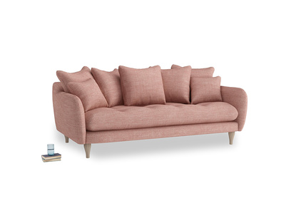 Large Skinny Minny Sofa in Blossom Laundered Linen