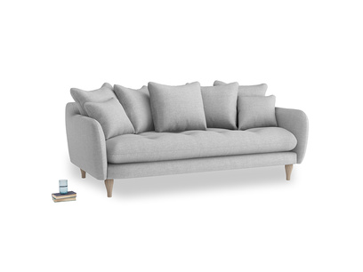Large Skinny Minny Sofa in Cobble house fabric