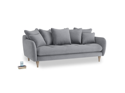 Large Skinny Minny Sofa in Dove grey wool