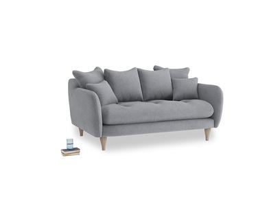 Small Skinny Minny Sofa in Dove grey wool