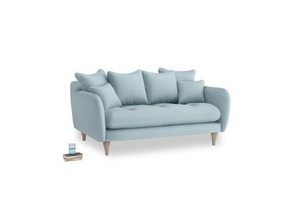 Small Skinny Minny Sofa in Powder Blue Clever Softie