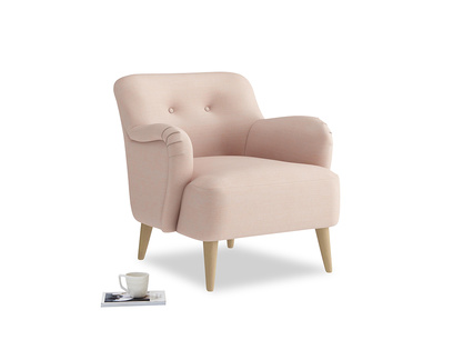 Diggidy Armchair in Pink clay Clever Softie