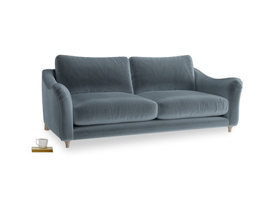 Large Bumpster Sofa in Odyssey Clever Deep Velvet