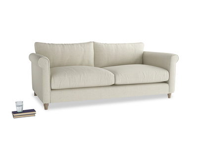 Large Weekender Sofa in Stone Vintage Linen
