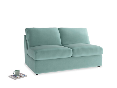 Chatnap Sofa Bed in Greeny Blue Clever Deep Velvet