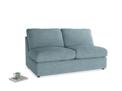 Chatnap Sofa Bed in Soft Blue Clever Laundered Linen