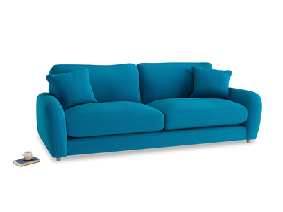 Large Easy Squeeze Sofa in Bermuda Brushed Cotton