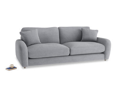 Large Easy Squeeze Sofa in Dove grey wool
